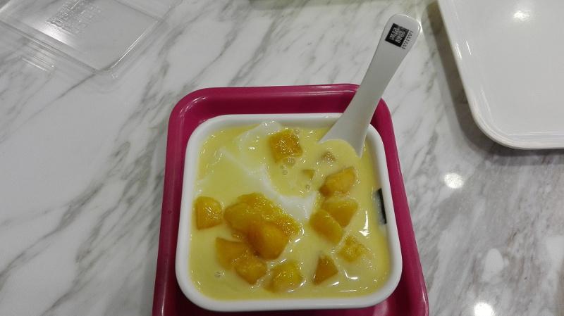 Tofu a mango.